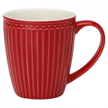 Becher (Mug) - Alice red
