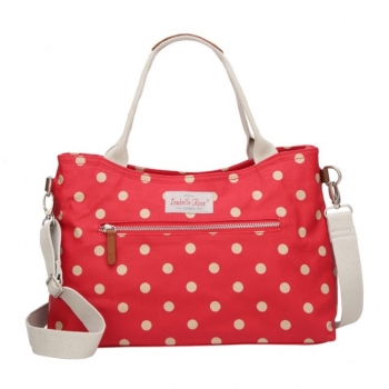 Tasche - Polka dot red