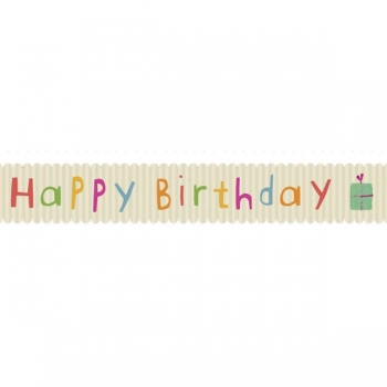 Masking tape - Birthday (hellblau)